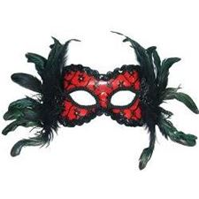 red/black-mask-+-feathers-on-hband