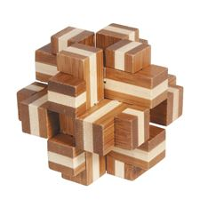 """iq-test""-bamboo-puzzle-""cube-cross"""