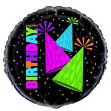 foil-ballong/-neon-party-46cm