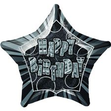 50-cm-pkg-black-star-prism-happy-birthday-balloon