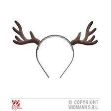 flocked-reindeer-horns